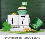 happy st patricks day save the... | Shutterstock . vector #250011643