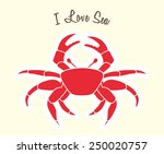 love sea design  vector... | Shutterstock .eps vector #250020757