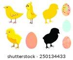 chicken and egg | Shutterstock .eps vector #250134433