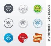 best girlfriend sign icon.... | Shutterstock .eps vector #250153003