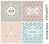 graphic design templates for... | Shutterstock .eps vector #250160377
