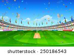 illustration of stadium of... | Shutterstock .eps vector #250186543