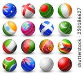 illustration of cricket bat of... | Shutterstock .eps vector #250186627