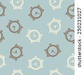 seamless background  watch   Shutterstock .eps vector #250231027