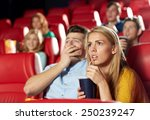 cinema  entertainment and... | Shutterstock . vector #250239247