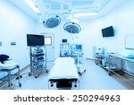equipment and medical devices... | Shutterstock . vector #250294963