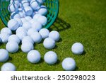 Golf Ball   Basket Grass...