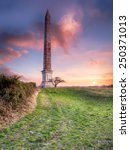 the bodmin beacon a 144 foot... | Shutterstock . vector #250371013