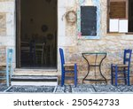 Typical Greek Restaurant....