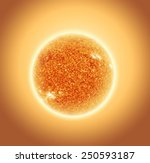 The Sun With Depth Of Field...