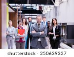young multi ethnic business... | Shutterstock . vector #250639327