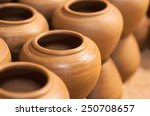Closed Up Of Clay Pot.