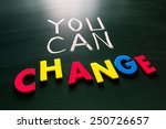 you can change concept ... | Shutterstock . vector #250726657