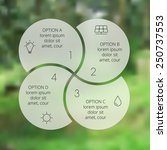 Vector Circle Eco Infographic....