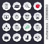 16 business trendy octagonal...