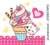 Cat Climb Ice Cream