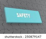 safety | Shutterstock . vector #250879147