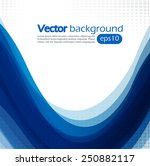 abstract background with blue... | Shutterstock .eps vector #250882117