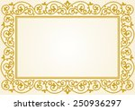 russian traditional carving... | Shutterstock .eps vector #250936297