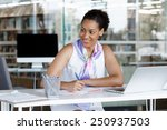 portrait of a young business... | Shutterstock . vector #250937503