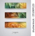 business design templates. set... | Shutterstock .eps vector #251089123