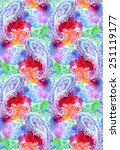 seamless paisley pattern. very... | Shutterstock . vector #251119177