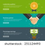 website headers or promotion... | Shutterstock .eps vector #251124493