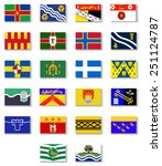 flags of the counties of...