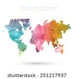 vector abstract... | Shutterstock .eps vector #251217937
