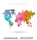 vector abstract... | Shutterstock .eps vector #251219257