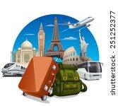 journey concept   Shutterstock .eps vector #251252377