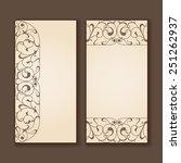 set of vintage labels or...   Shutterstock . vector #251262937