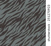 zebra  tiger stripes seamless... | Shutterstock .eps vector #251270923
