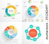 circular templates for... | Shutterstock .eps vector #251282497