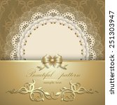 elegant template luxury... | Shutterstock .eps vector #251303947