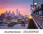 Philadelphia Under A Hazy...