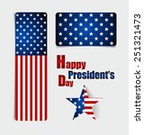 happy presidents day.... | Shutterstock .eps vector #251321473