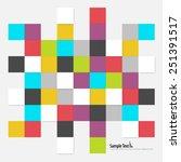 digital squares modern