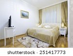 hotel bedroom interior | Shutterstock . vector #251417773