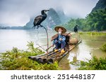 Cormorant Fisherman And His...