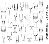 set with different empty... | Shutterstock . vector #251450467