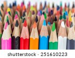 colored pencils | Shutterstock . vector #251610223
