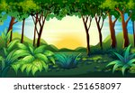 illustration of a scene of a... | Shutterstock .eps vector #251658097