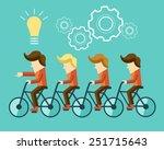 business idea | Shutterstock .eps vector #251715643