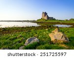 Dunguaire Castle In Co. Galway...