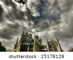 Dramatic Sky Over Ely Cathedra...