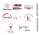 set of badges  labels  logo and ...   Shutterstock .eps vector #251796343