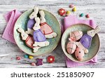 Easter Bunny Cookies....