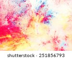 artistic splashes of bright... | Shutterstock . vector #251856793