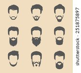 vector set of different men... | Shutterstock .eps vector #251875897